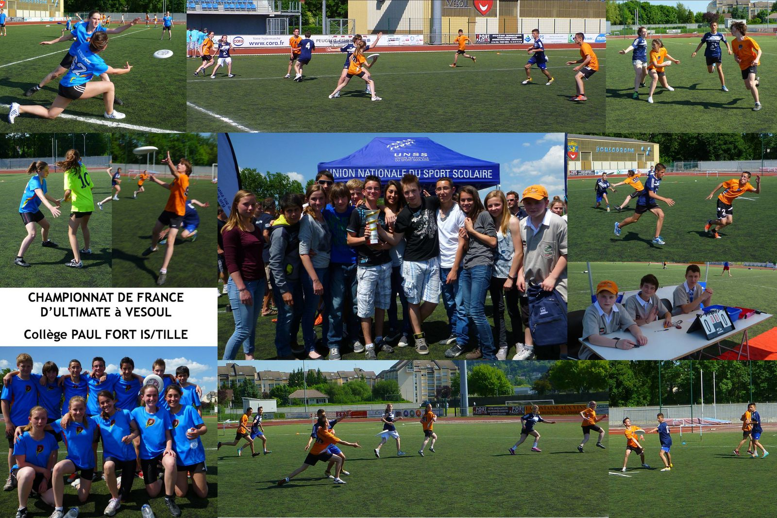 Championnat de France d'Ultimate Frisbee 2012/2013