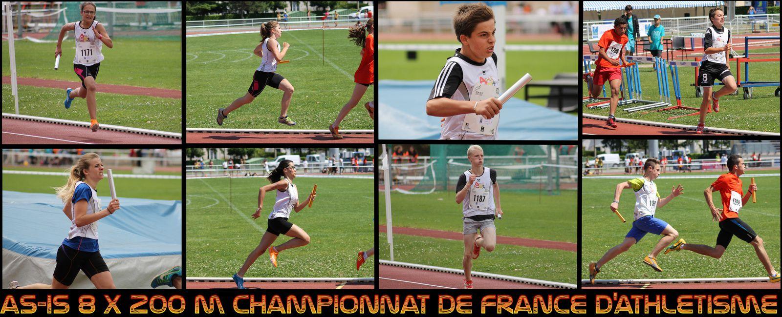 CHAMPIONNAT DE FRANCE D'ATHLETISME OUTDOOR 2013/2014
