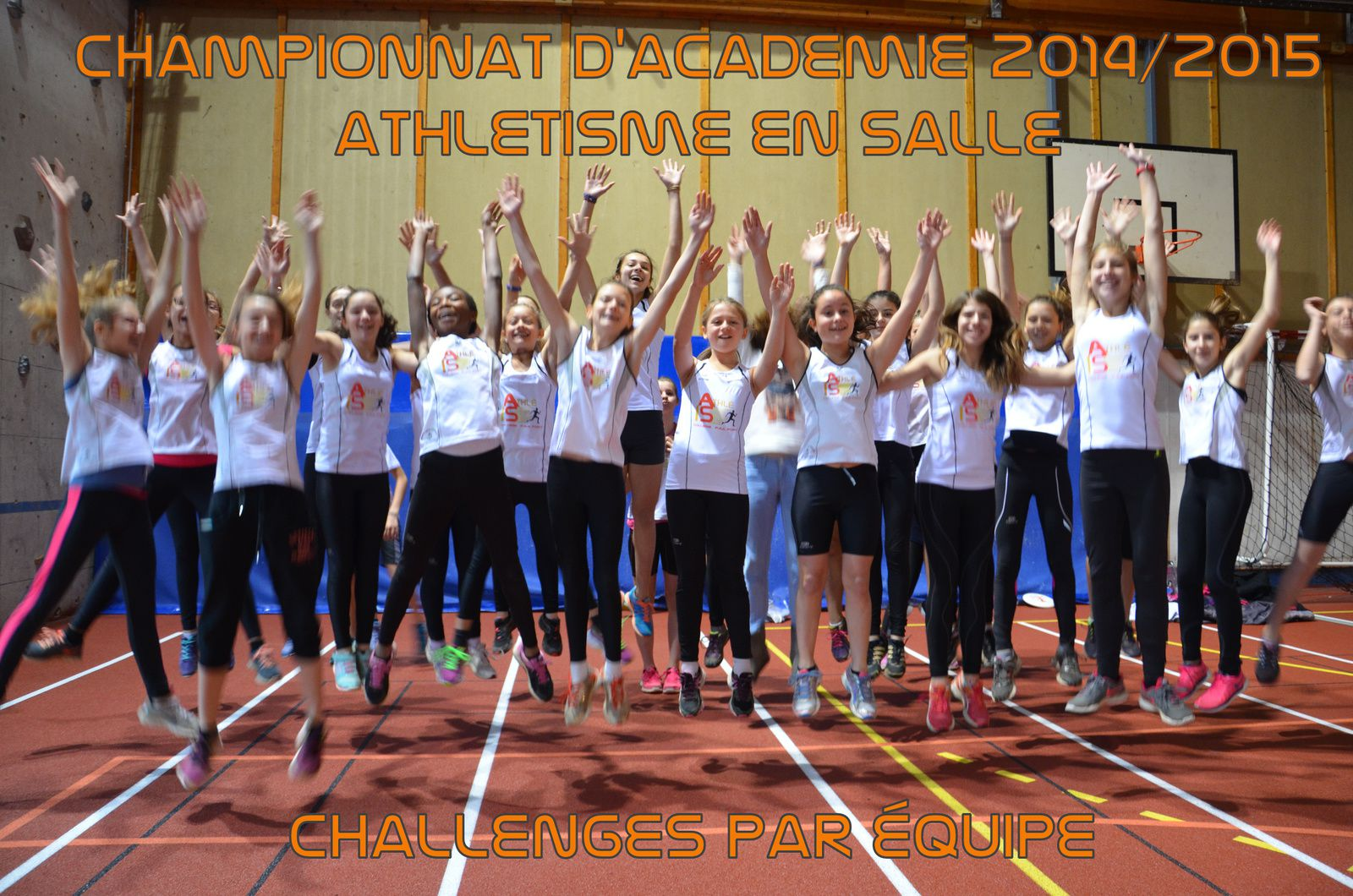 CHAMPIONNAT D'ACADEMIE ATHLETISME INDOOR 2014/2015