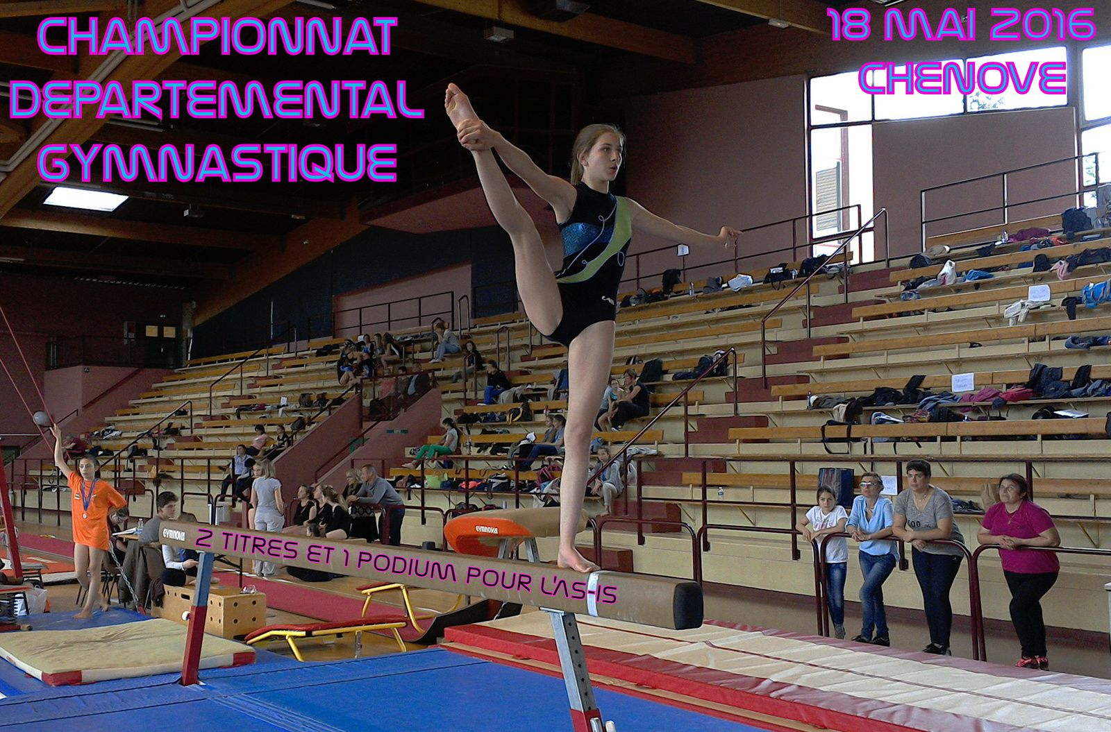 CHAMPIONNAT DEPARTEMENTAL GYMNASTIQUE 2015/2016