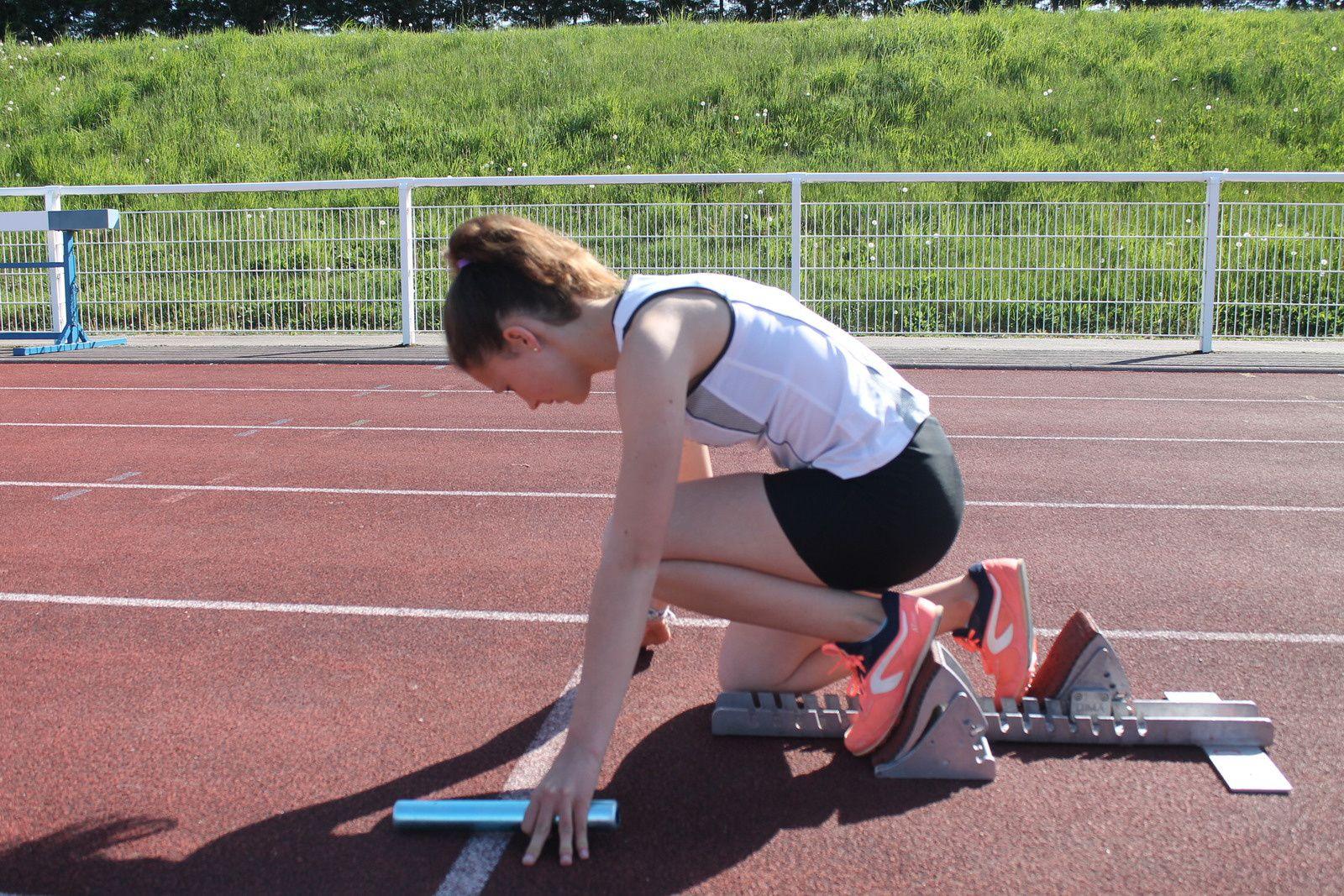 Les athlètes issois sont dans les starts pour ce premier test estival sur la piste.
