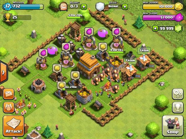 Clash of Clans Télécharger. Piratage, Triche, Astuces