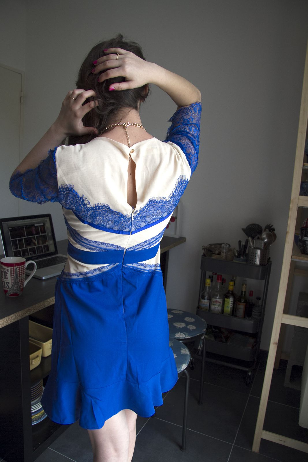 Ma robe bleue + concours