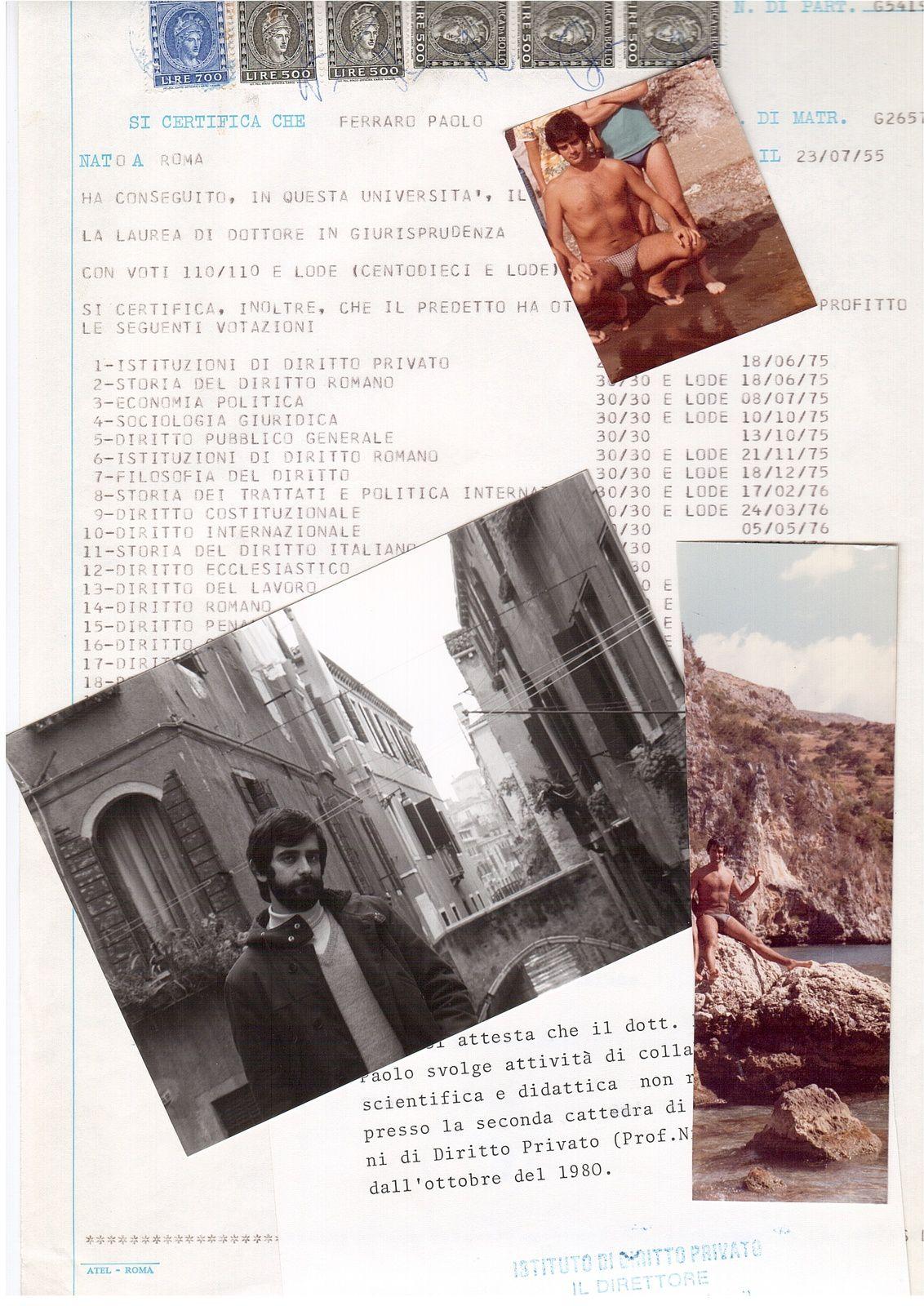 MONDO TAVISTOCK COLLOQUIO REGISTRATO A PROVA.  PAOLO FERRARO ATTENZIONATO DAL 1977  PER INTELLIGENZA E CAPACITA' . SI INFRANGE SULLA NOTA VICENDA UN INTERO PERCORSO STORICO COPERTO .