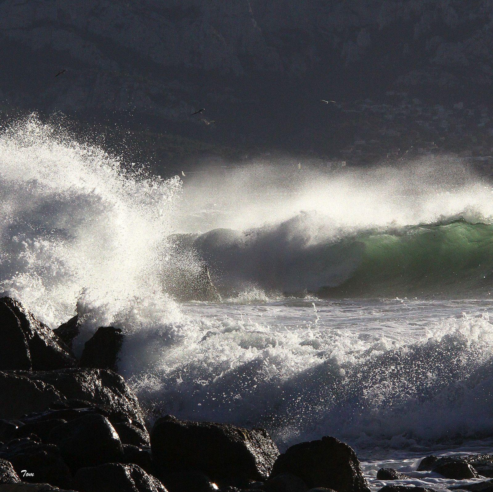 """Déferlantes"" - ""Breaking wave"""