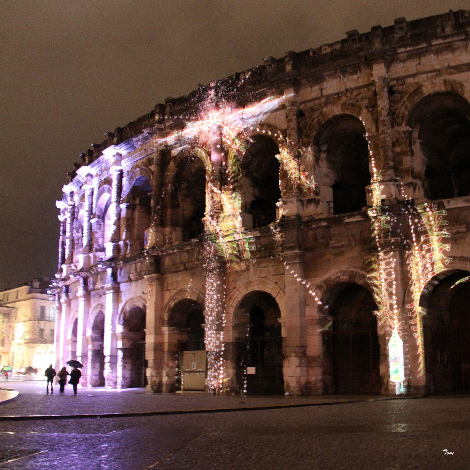 Festival de sons et lumières à Nîmes