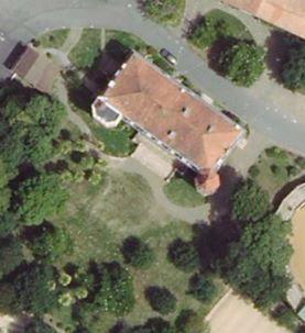 Château de poudenx , Saint-Criq-Chalosse ( Landes 40 ) A