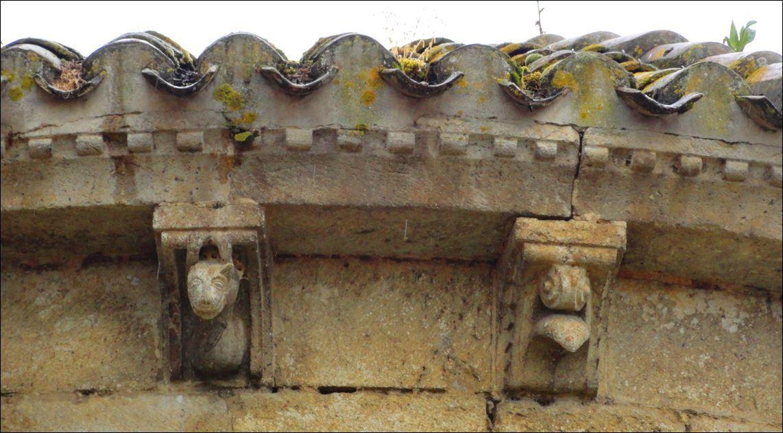Eglise Saint Austrégésile , Mouchan ( Gers 32 ) AA