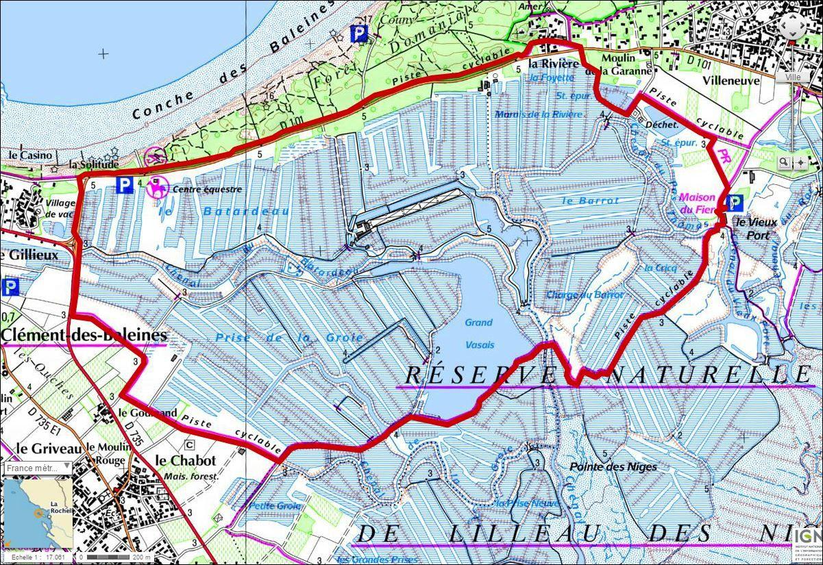 Réserve naturelle de Lillau des Niges.