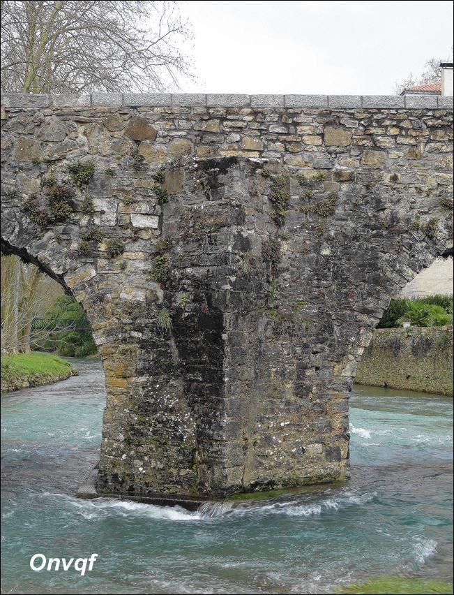 Pont de Uhart-Mixe ( Pyrénées-Atlantiques 64 ) A