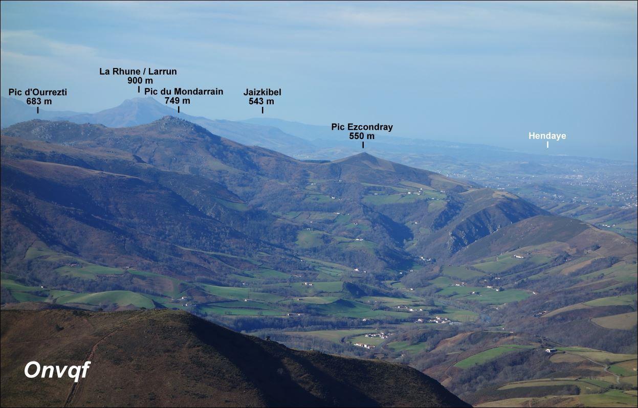 Quizz montagnes du Pays Basque 1 (Niveau Moyen)