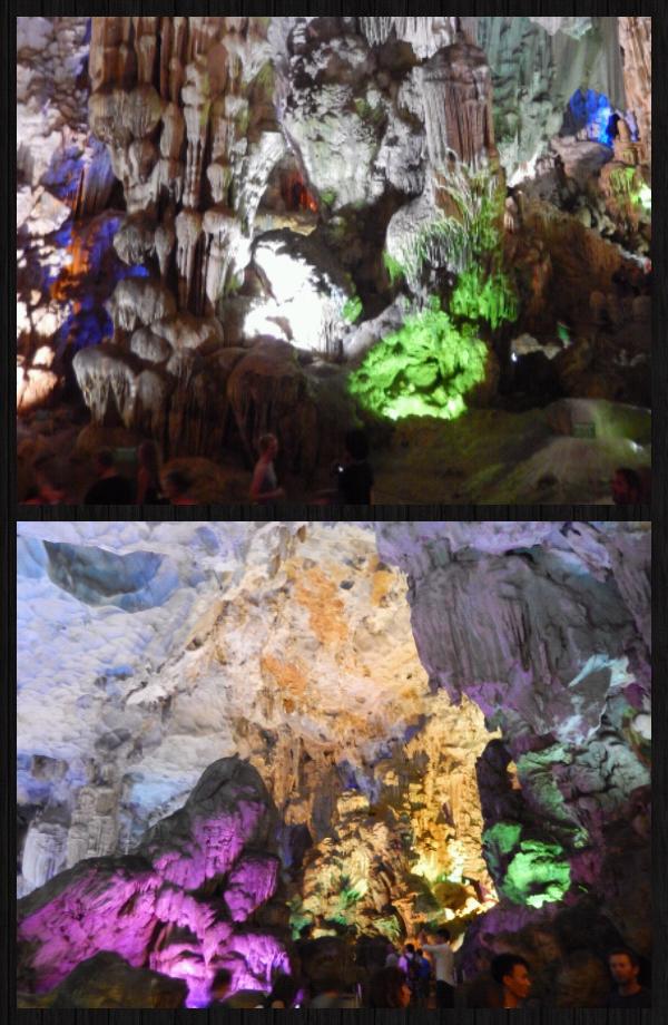 immense grotte. avec l'aide de Tiger, on y voit des animaux sacrés...