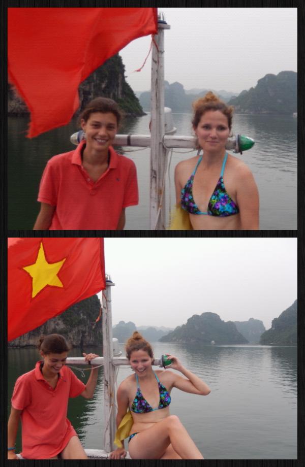 Vietnam (2): un petit tour à Halong Bay