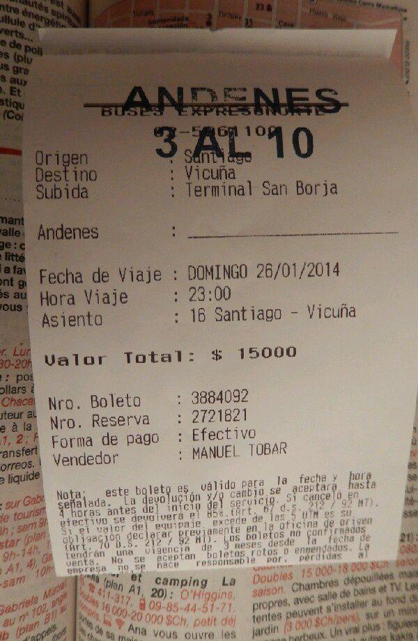 Chili (5): Vie nocturne à Santiago