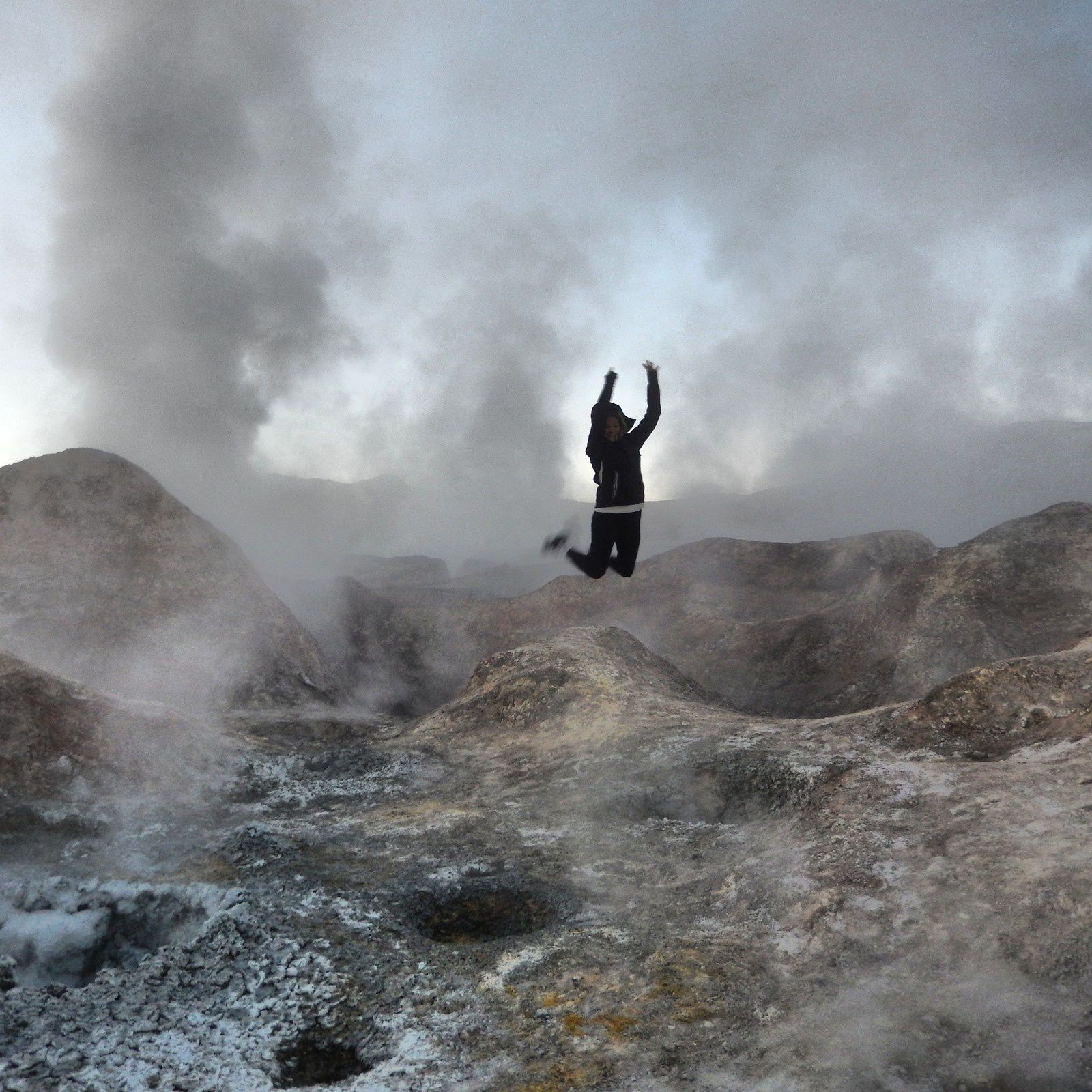 Bolivie (2): Du paysage de carte postale à la réalité: Bienvenue dans le Salar d'Uyuni, Desert du Sud-Lipez.