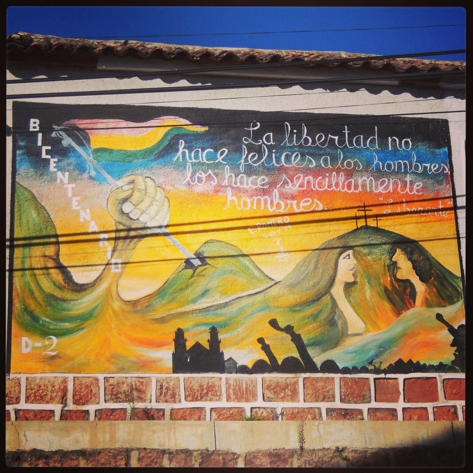 Bolivie (3): 2jours à  Sucre (mais pas de chocolat. )