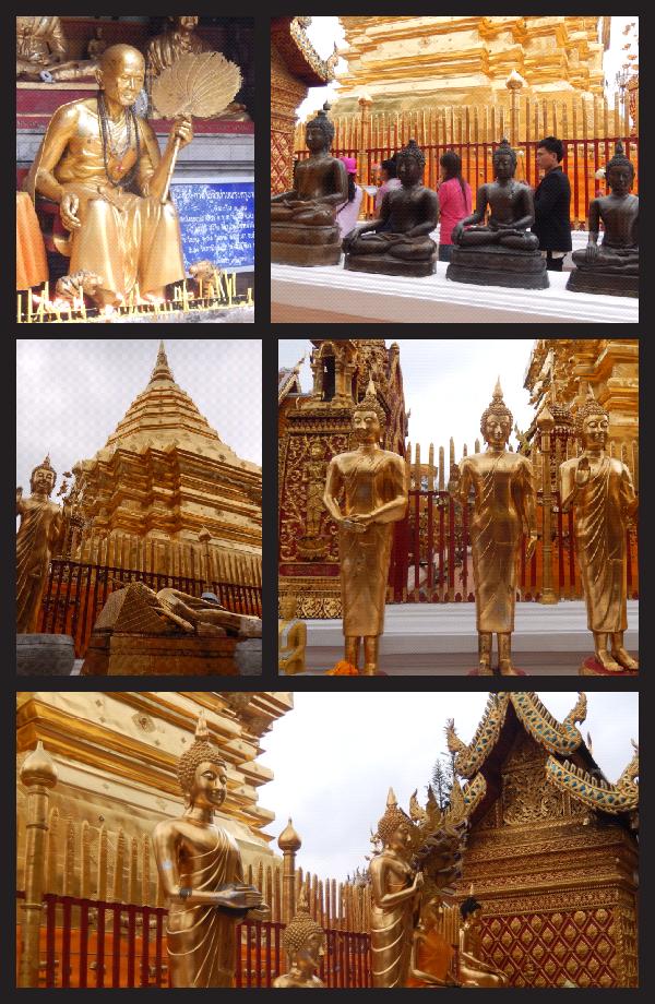 visite du temple Doi Su Thep