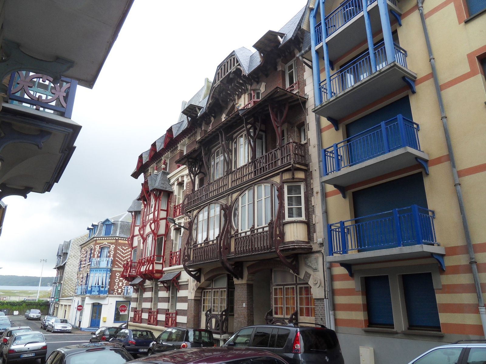 Mers les Bains et ses belles villas des années 30...