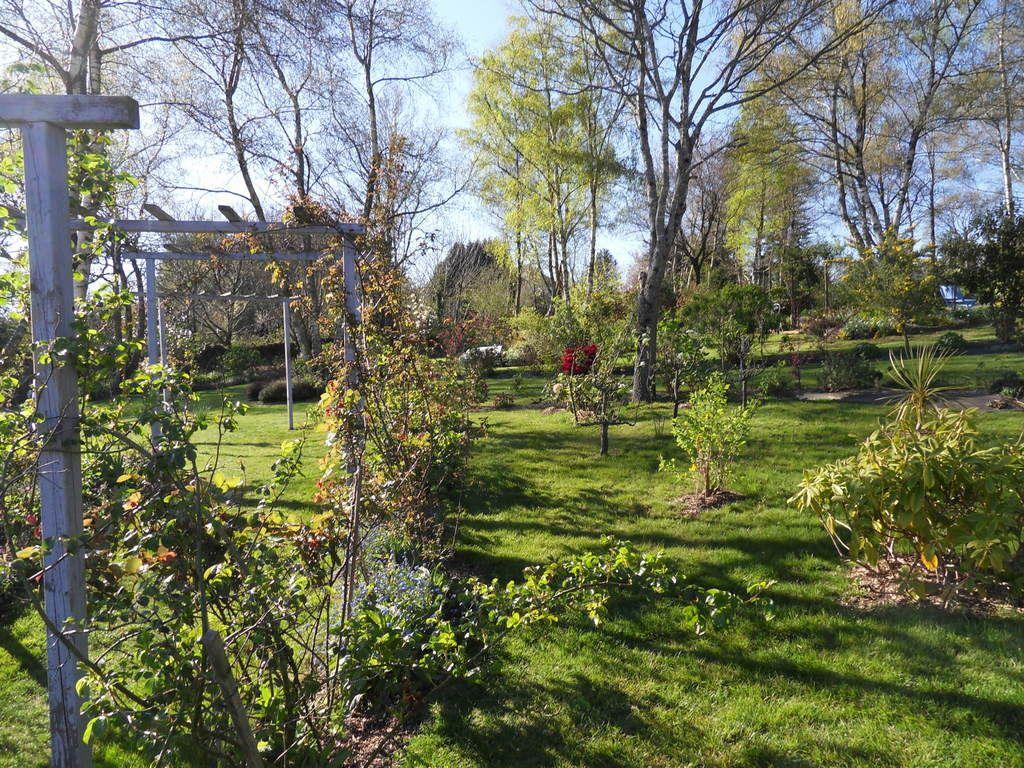 le jardin le 15avril