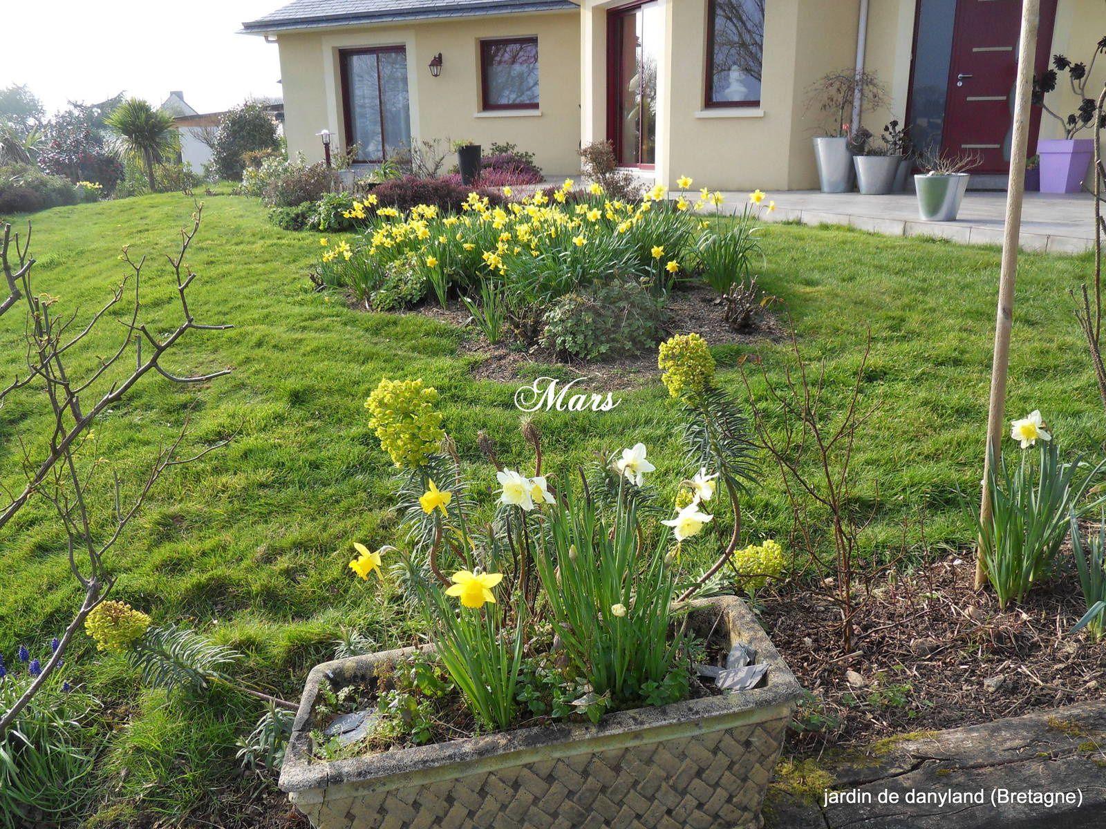 sous le soleil d\'avril... - Le jardin de Danyland en Bretagne