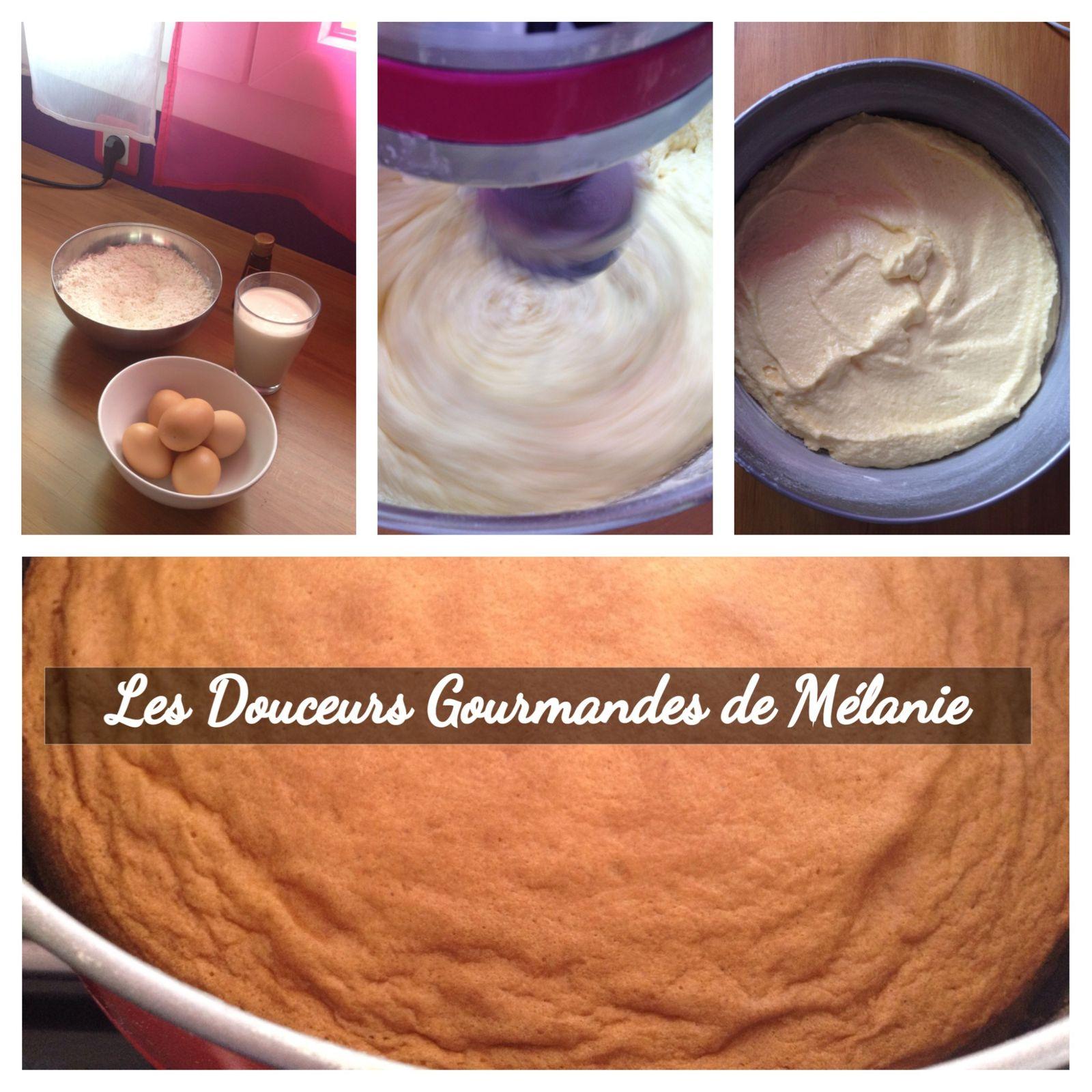 Victoria Sponge Cake (base vanille)