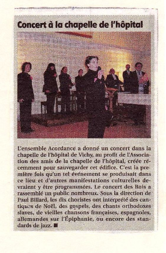 affiche  article de presse photo