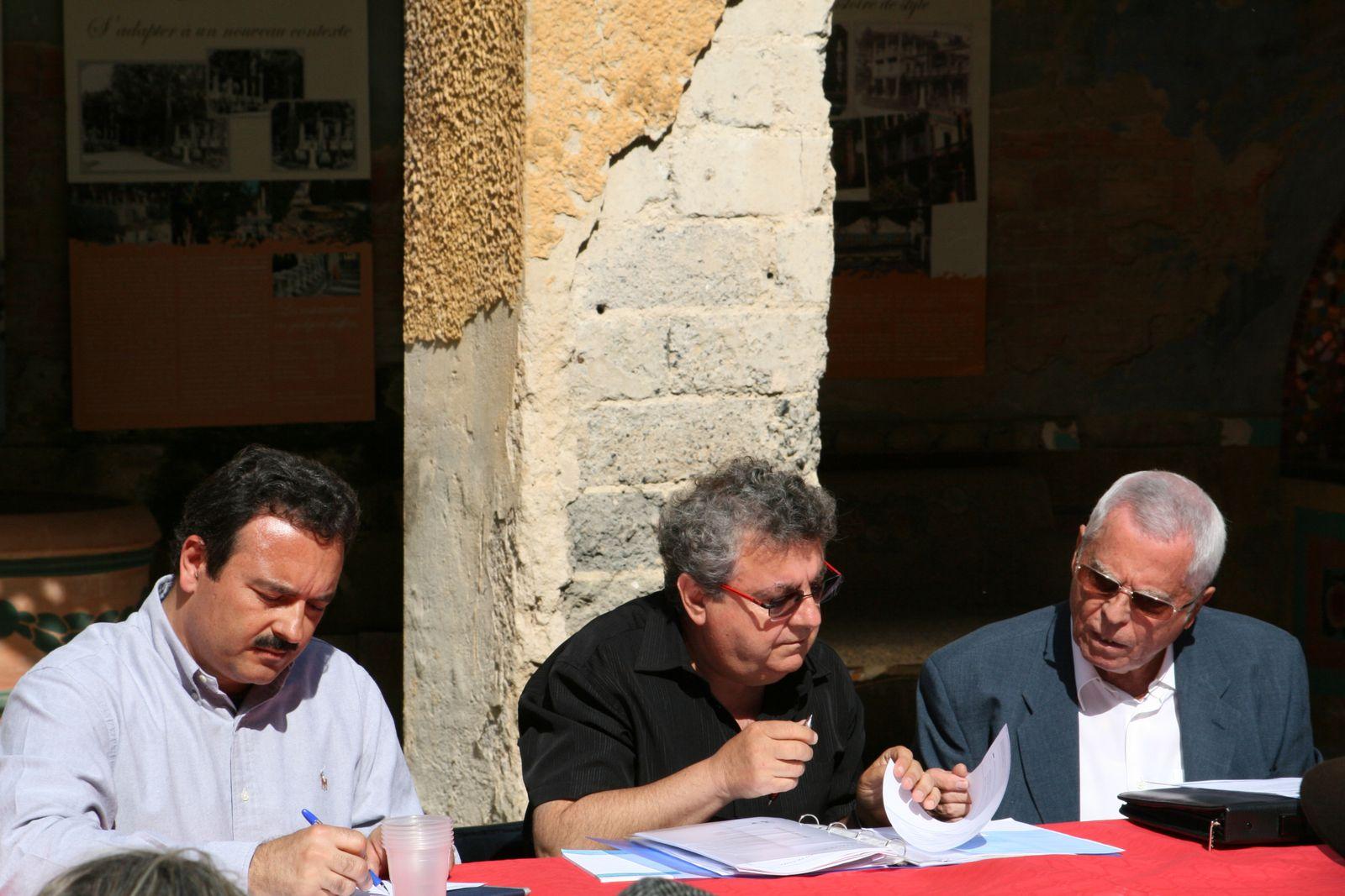 Assemblée Générale de Renaissance du Cercle Blasco Ibañez de Menton et dépôt de gerbe à l'occasion du 85ème Anniversaire de la disparition de l'écrivain.