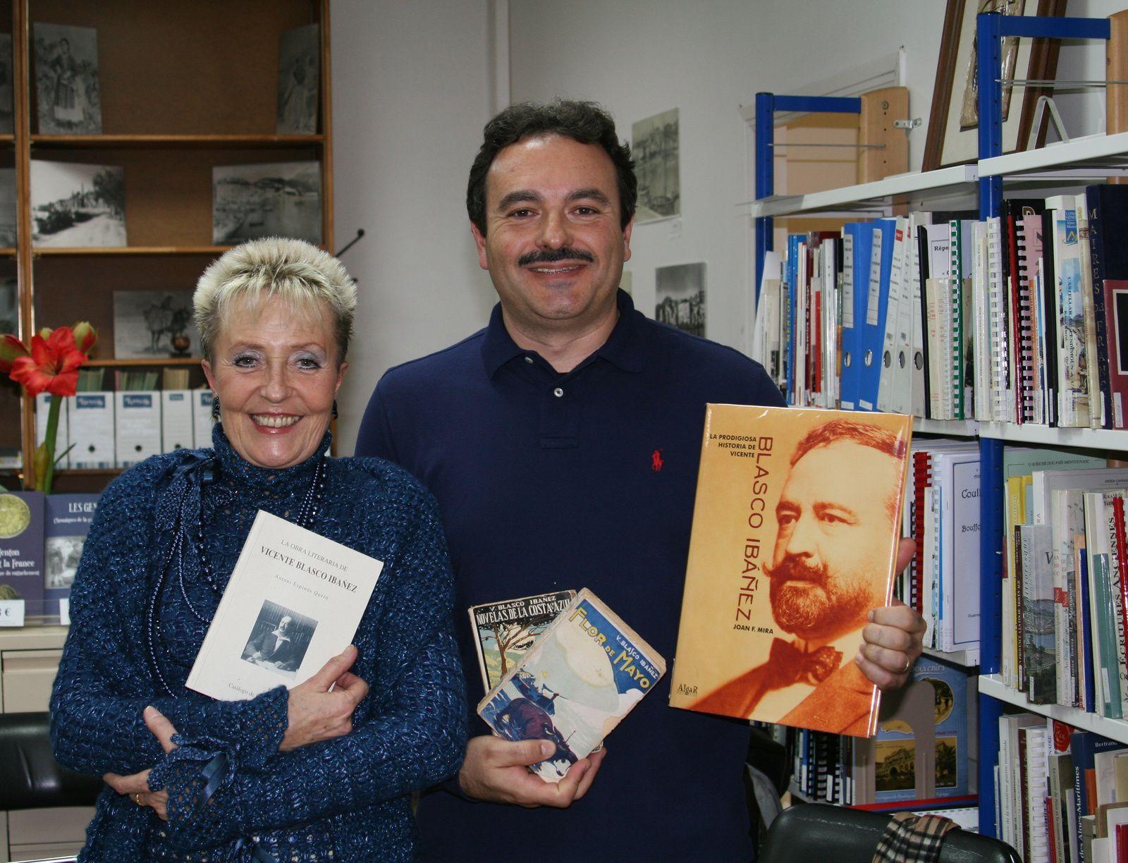 Carmen MEDRANO, Patrick ESTEVE et Vicente BLASCO IBAÑEZ