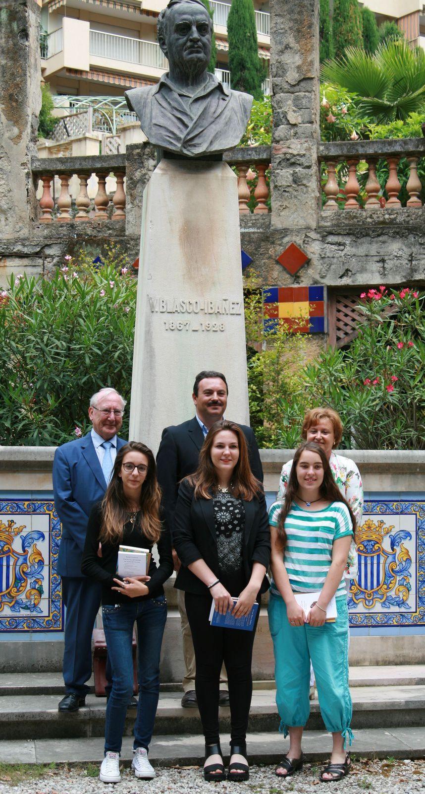 """Remise des Prix 2014 du 1er concours de nouvelles """"Vicente Blasco Ibañez 2014"""" - Prestation de Monsieur Yves Grancher, Comédien."""