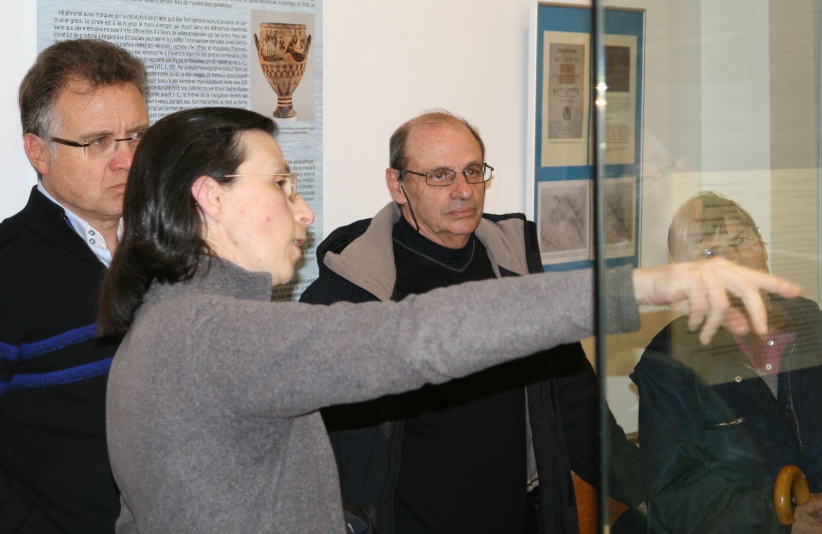 """Mmes Eve Bondroit, Christine Didier et Almudena Arellano ont transporté les adhérents du Cercle Blasco Ibañez dans """"Mare Nostrum"""""""