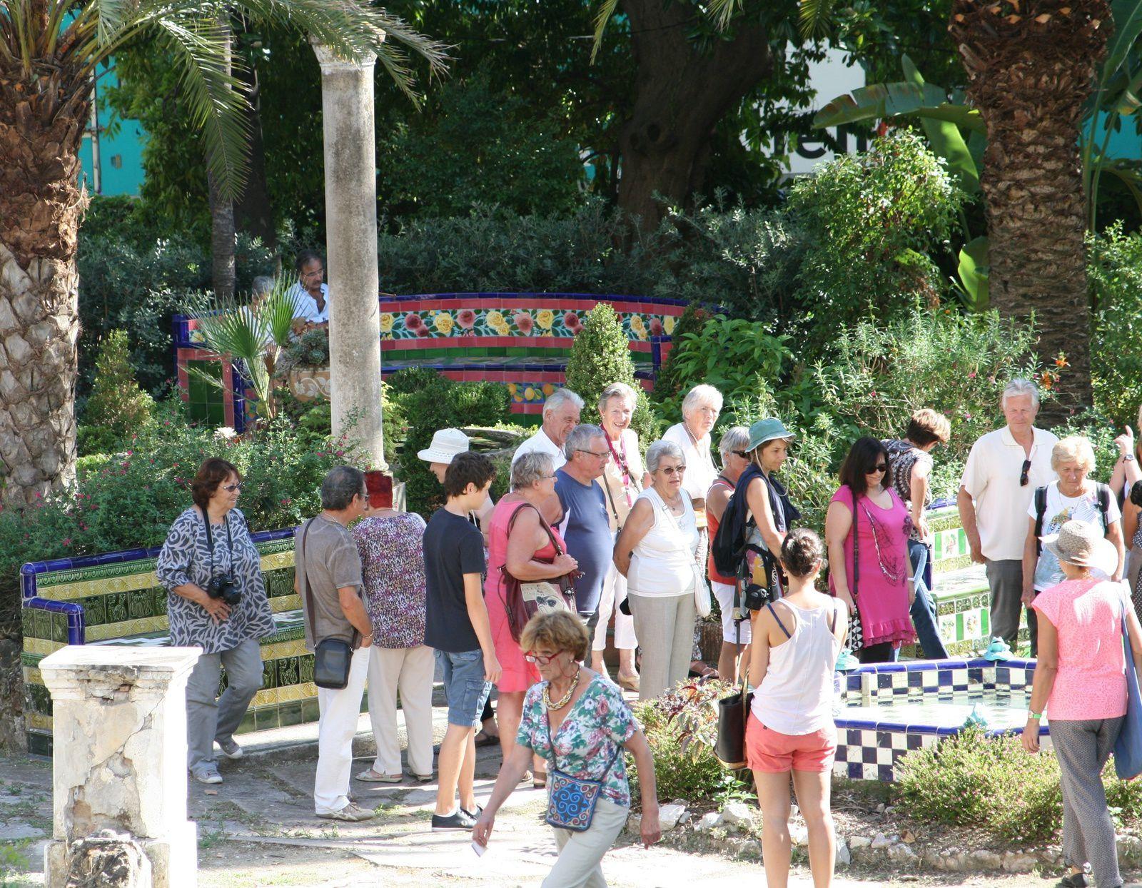 Les Journées Européennes du Patrimoine 2015 à Fontana Rosa avec le Cercle Blasco Ibañez
