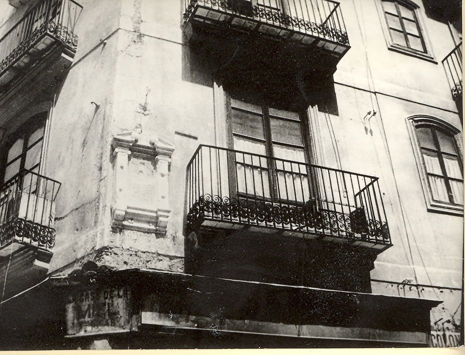 1) Père de Vicente Blasco Ibañez 2) Mère de Vicente Blasco Ibañez 3) Maison de naissance de VBI à Valencia 4) VBI enfant