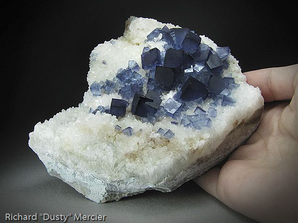 Fluorine Quartz de Bingham New Mexico