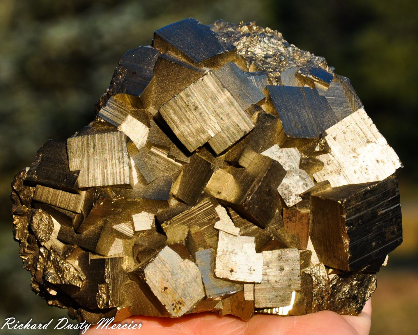 Pyrite de Racracancha Mine, Tinyahuarco District, Cerro de Pasco Province, Pasco Department, Pérou