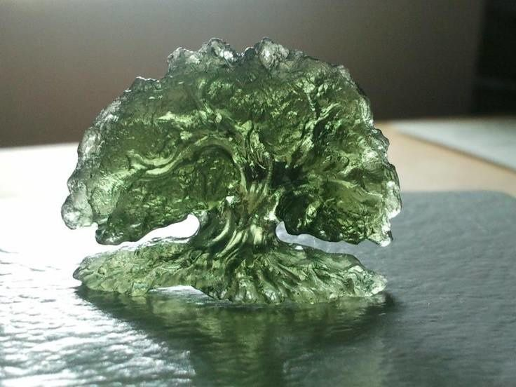 Moldavite (source: themagicfarawayttree.tumblr.com)