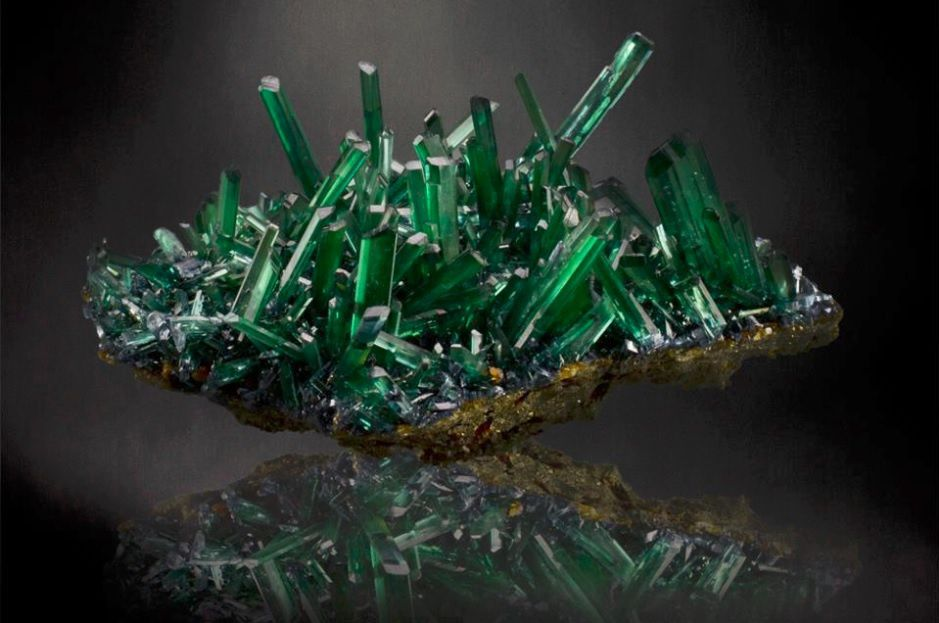 Vivianite de Bolivie (Photo: crystalspringsmining)