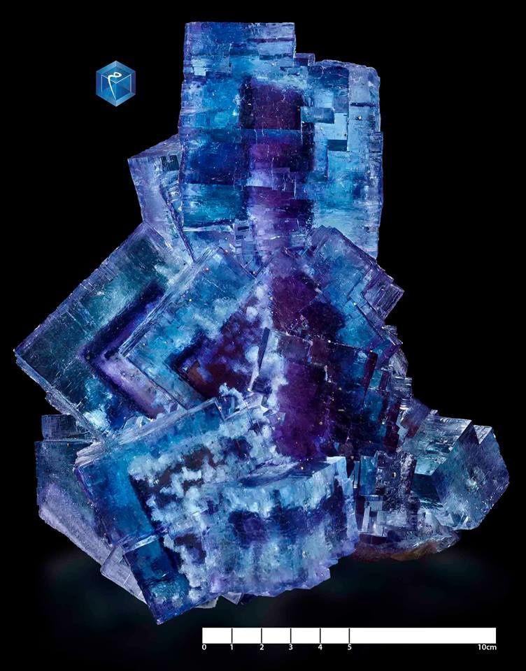 Fluorine de Cave in Rock, USA (pièce de Mim muséum)