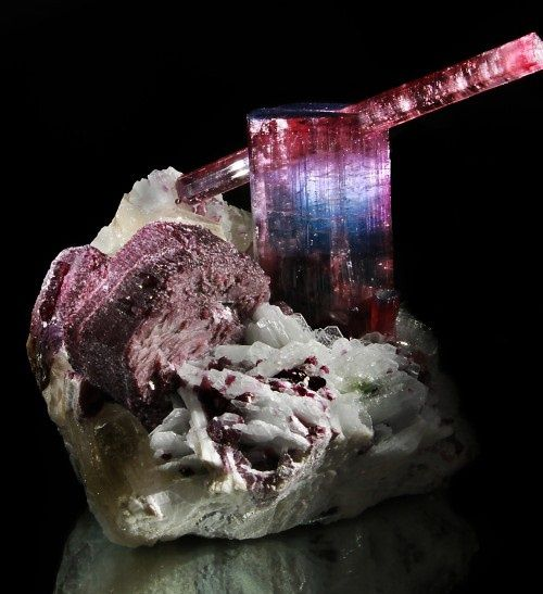 "Tourmaline from Pederneira Mine, Brazil (Specimen from ""AstroGallery"")"