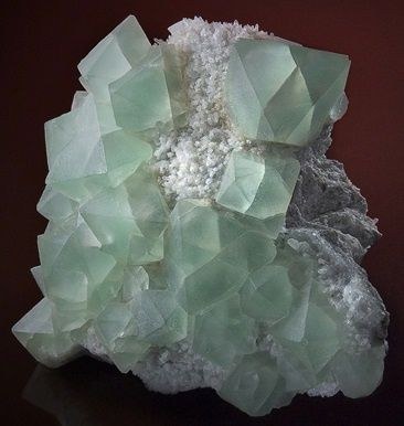Fluorite from Austria  (specimen and photo by Martin Gruell)