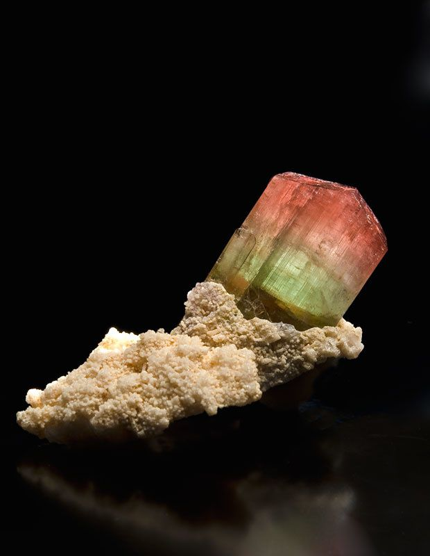 "Tourmaline from Brasil (specimen and photo by ""Mineral Masterpiece"")"