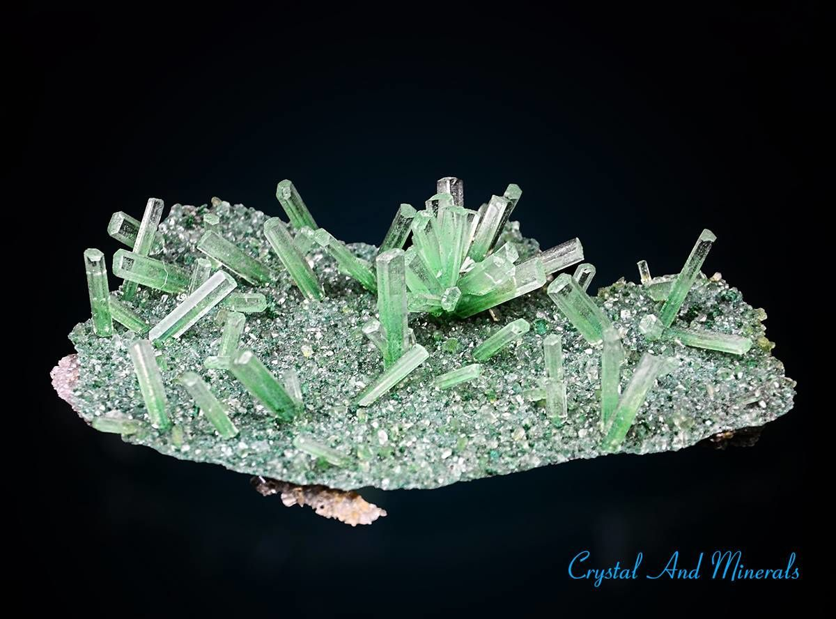 "Green Gypsum Selenite from Lubin Copper mine, Lower Silesia, Poland (specimen and photo ""Grzegorz Piątek"" ""Crystal And Minerals"")"