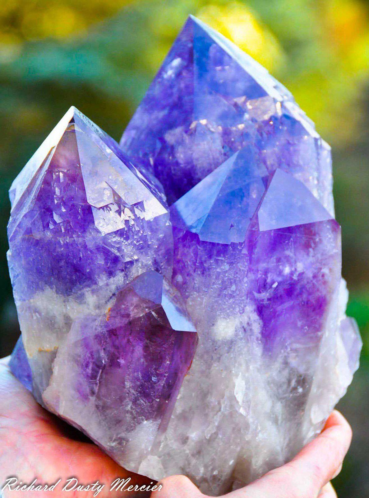 Ametrine from Anahi Mine, Santa Cruz, Bolivia (size: Museum)