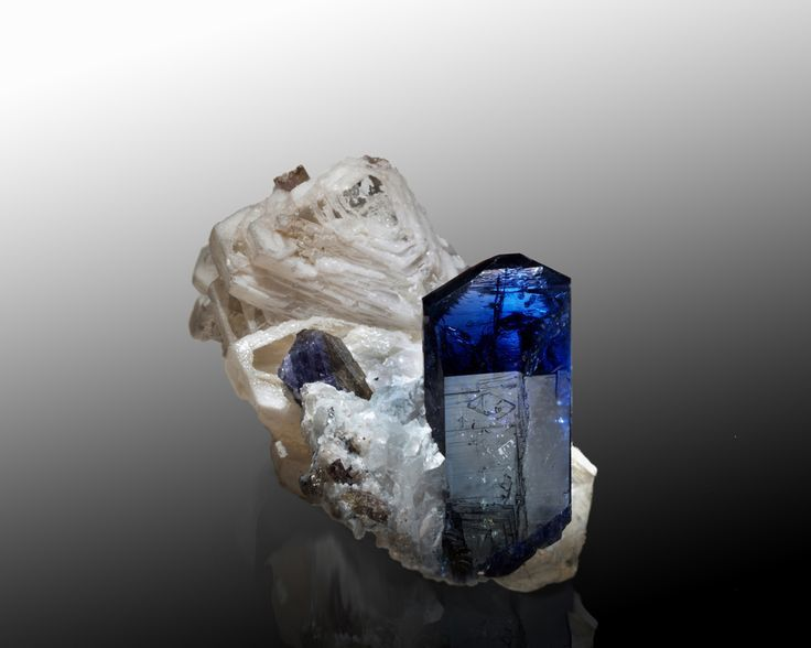 Tanzanite (specimen: Marcus Budil, photo: Malte Sickinger)