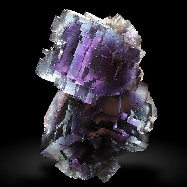 Fluorite from Tennessee, USA (specimen: Gobin, photography: Joaquim Callén)