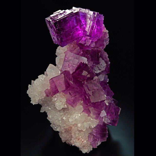 Fluorite from Berbes, Spain (Specimen: Marcus Budil, photography: Malte Sickinger)