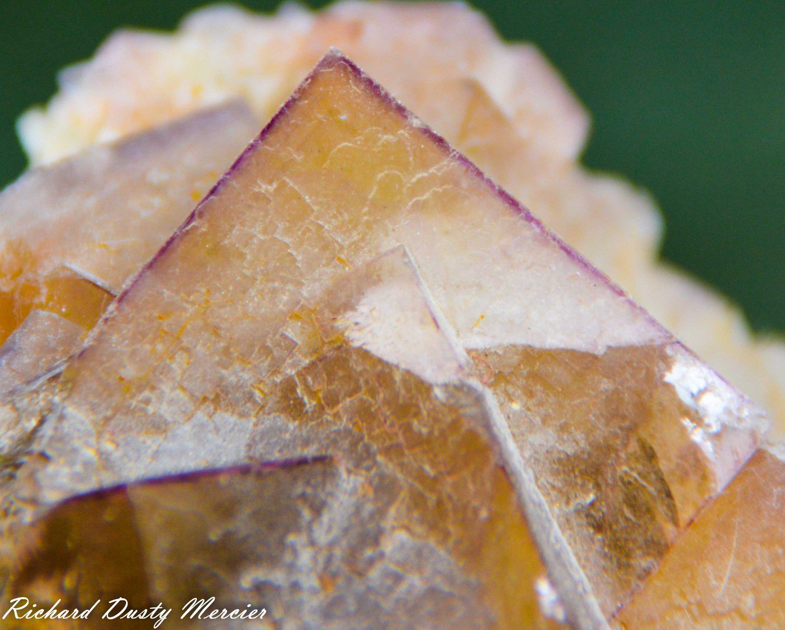 Fluorite from Arbouet, Pyrénées-Atlantiques, France (size: Small cabinet)