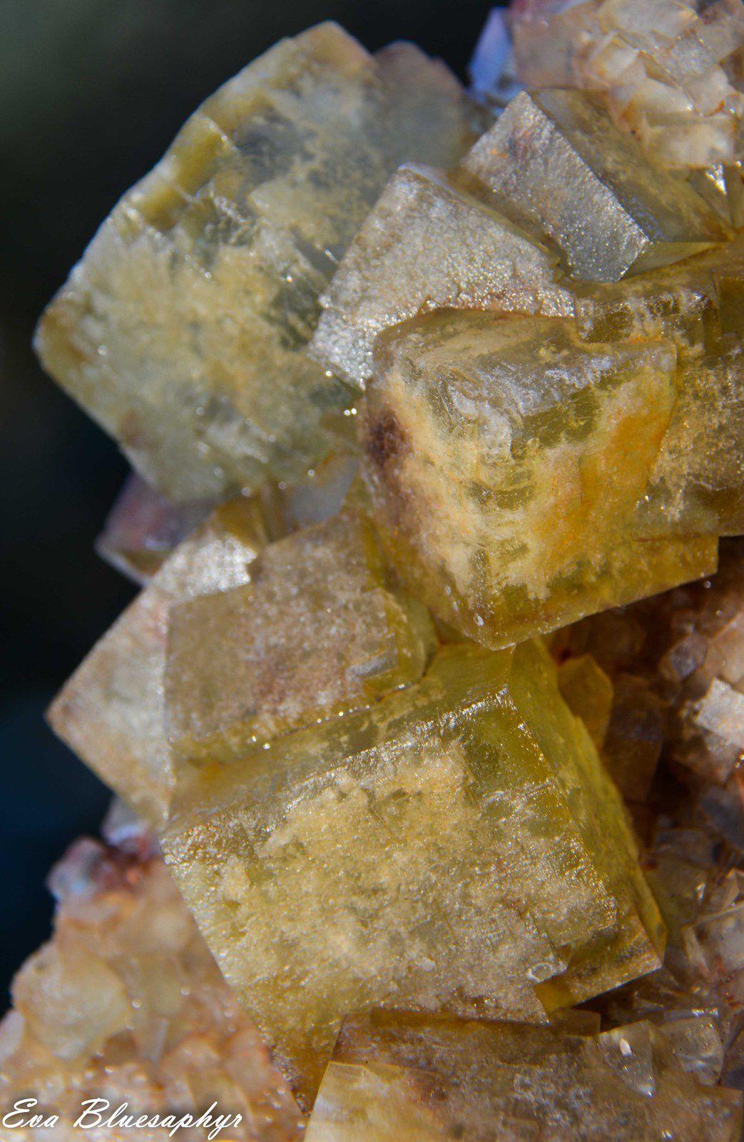 Fluorite (Fluorine) from El Hammam, Morocco (Maroc) (size: Museum XL)