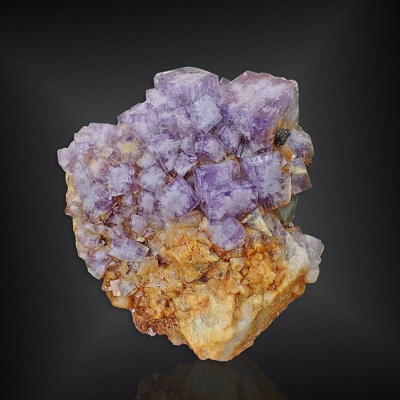 Fluorite from Coalcleugh Mine, West Allendale, Northumberland, United Kingdom (private collection)