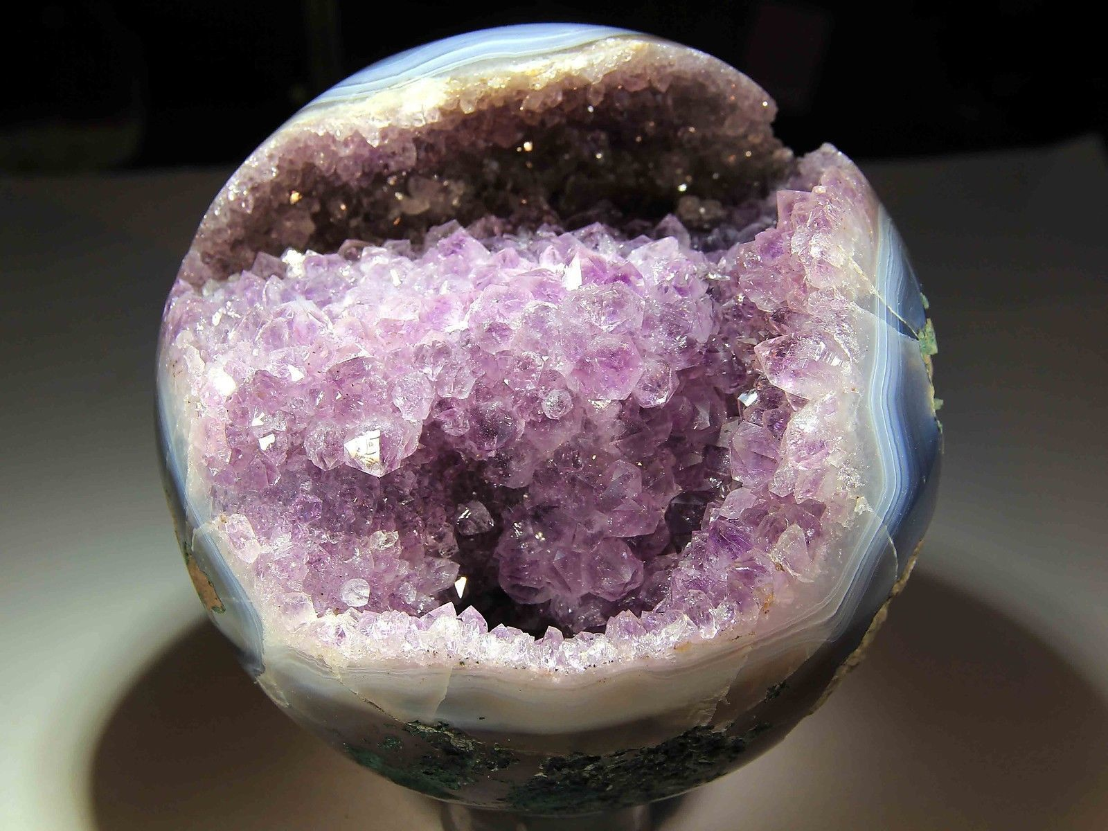 Amethyst Sphere (collection privèe)