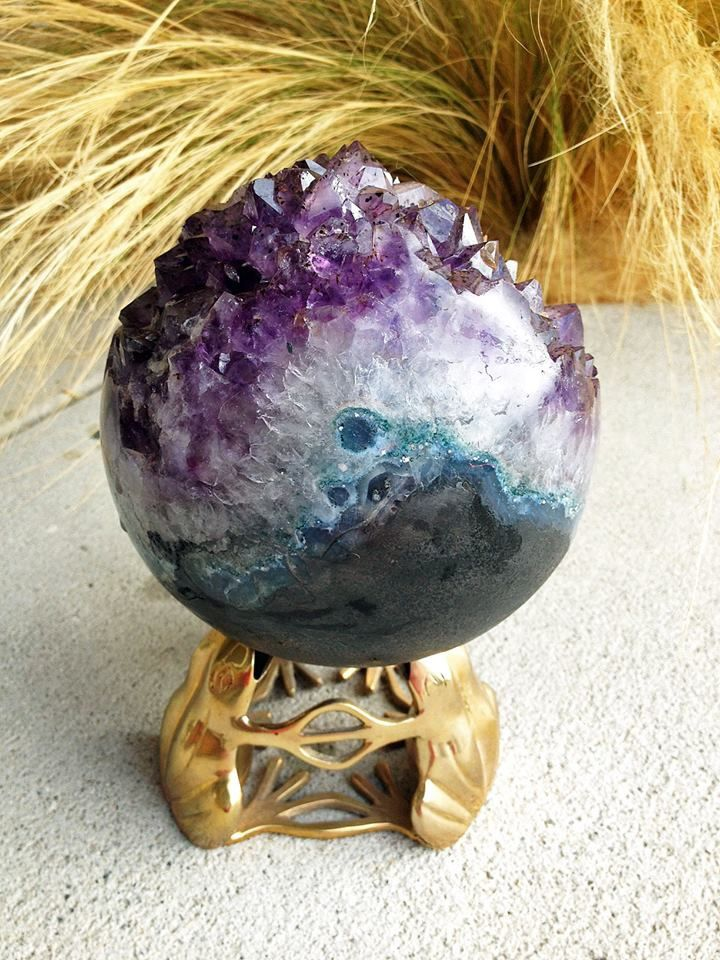 "Amethyst Sphere (collection privèe ""Tania Marie's"")"